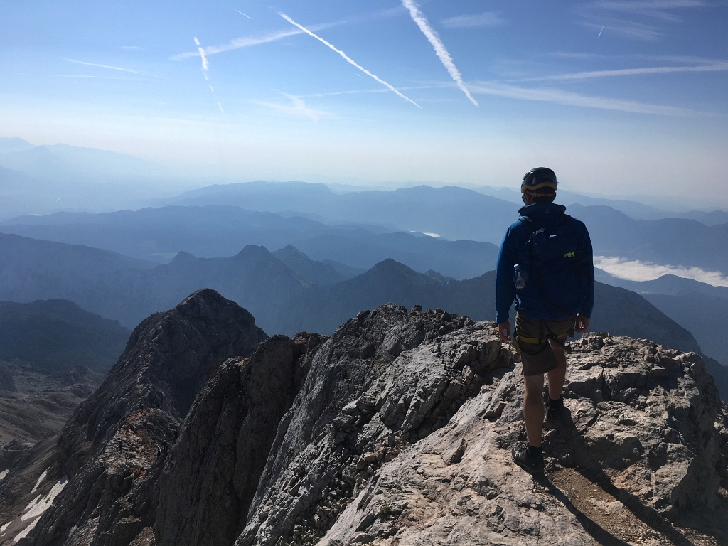 Climbing Mount Triglav, Slovenia 2864m Part Three