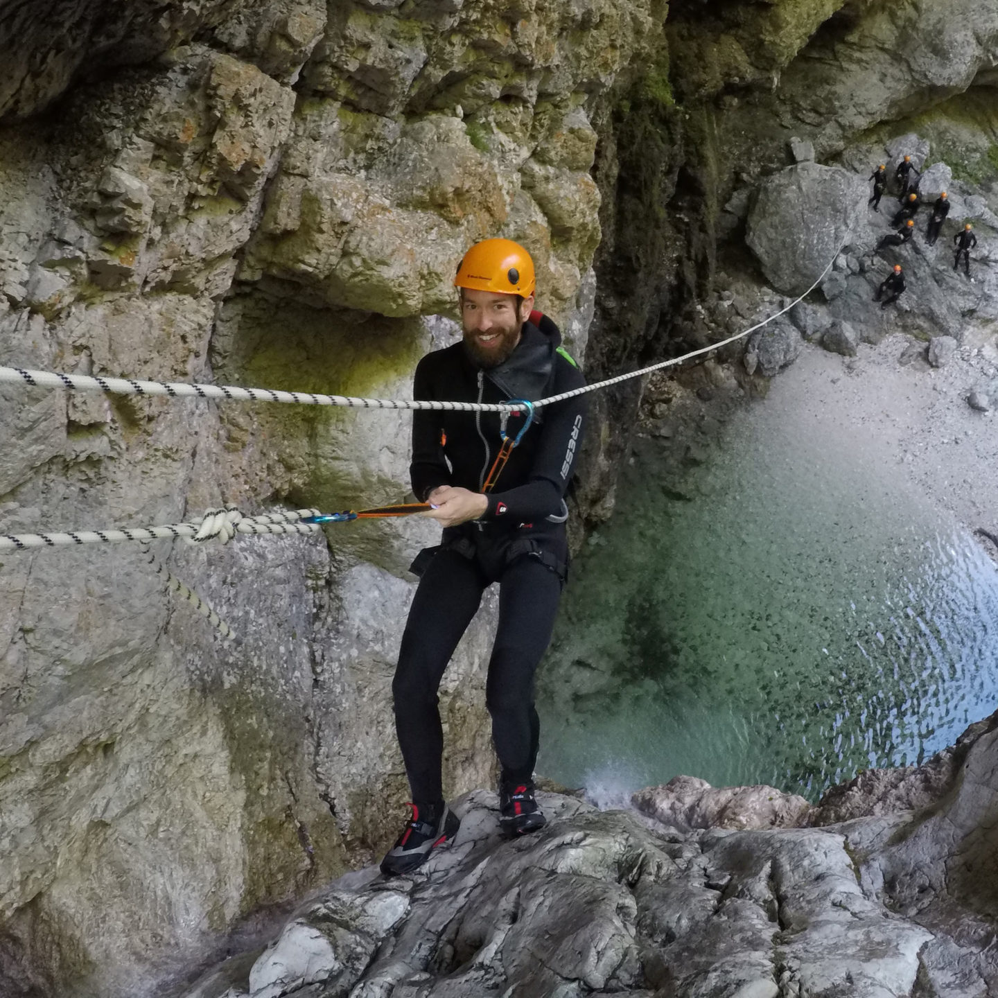 Canyoning and White Water Rafting in Slovenia
